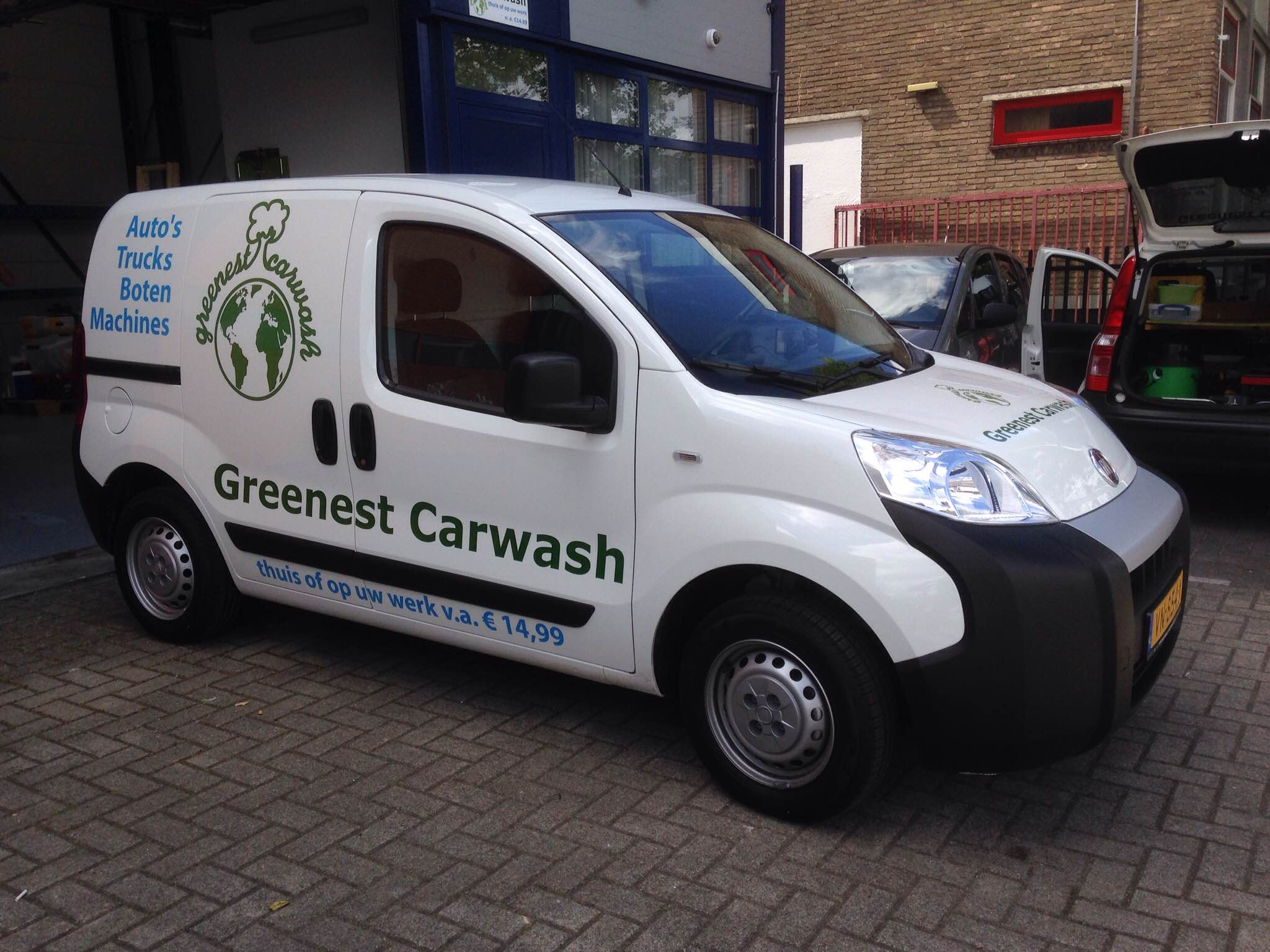 Greenest Carwash Mobiele Unit